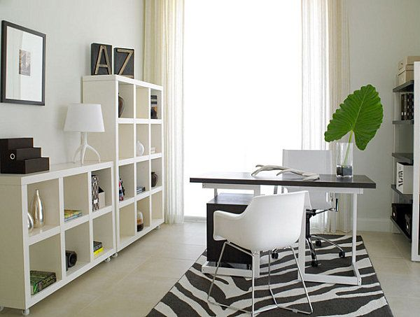 Creative Home Office Decorating Ideas Modern, Modern office