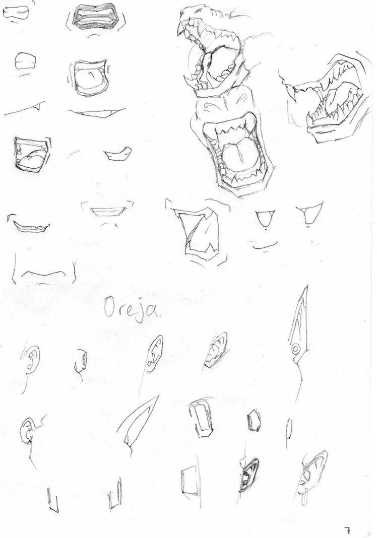 Bocas Y Orejas Db Dragon Ball Artwork Dragon Ball Art Dbz Drawings