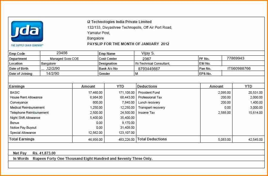 7 Free Salary Payslip Template Download Simple Salary Slip Finding A New Job Financial Aid For College Templates