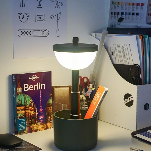 Take me to Berlin, with Bento lamp by YUUE #yuue #yuuedesign