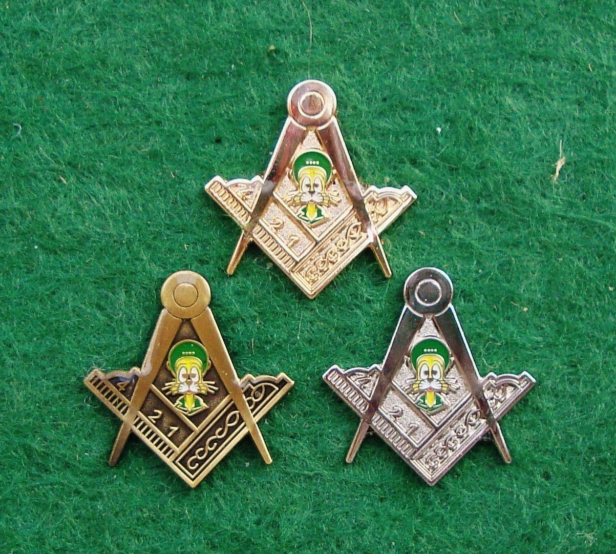 British Army Eod Bomb Disposal Masonic Felix Pin Badge Set Last Set