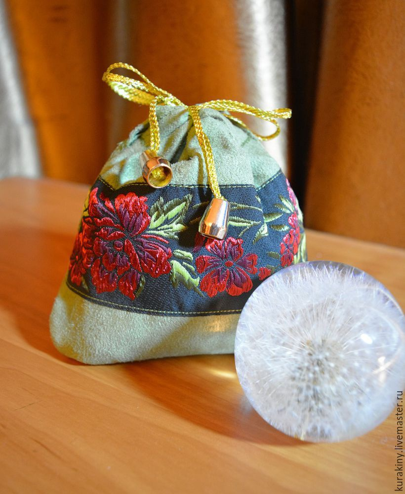 Cute Gift Pouch With A Drawstring