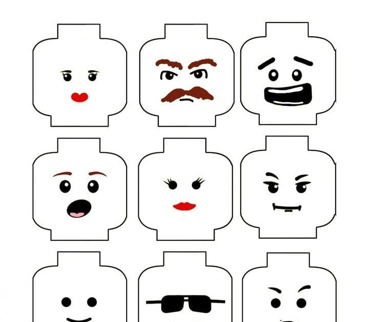 image regarding Lego Head Printable called Affordable Straightforward Lego Birthday Get together I such as this Lego mind
