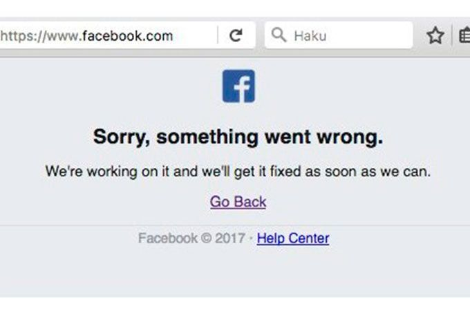 Usuarios reportaron problemas para ingresar a Facebook