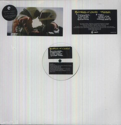 Limited vinyl LP pressing of this 1995 EP from the Scottish Electronic duo. Eight tracks. Sixtyniner, Oirectine, Iced Cooly, Basefree, Twoism, Seeya Later, Melissa Juice, Smokes Quantity