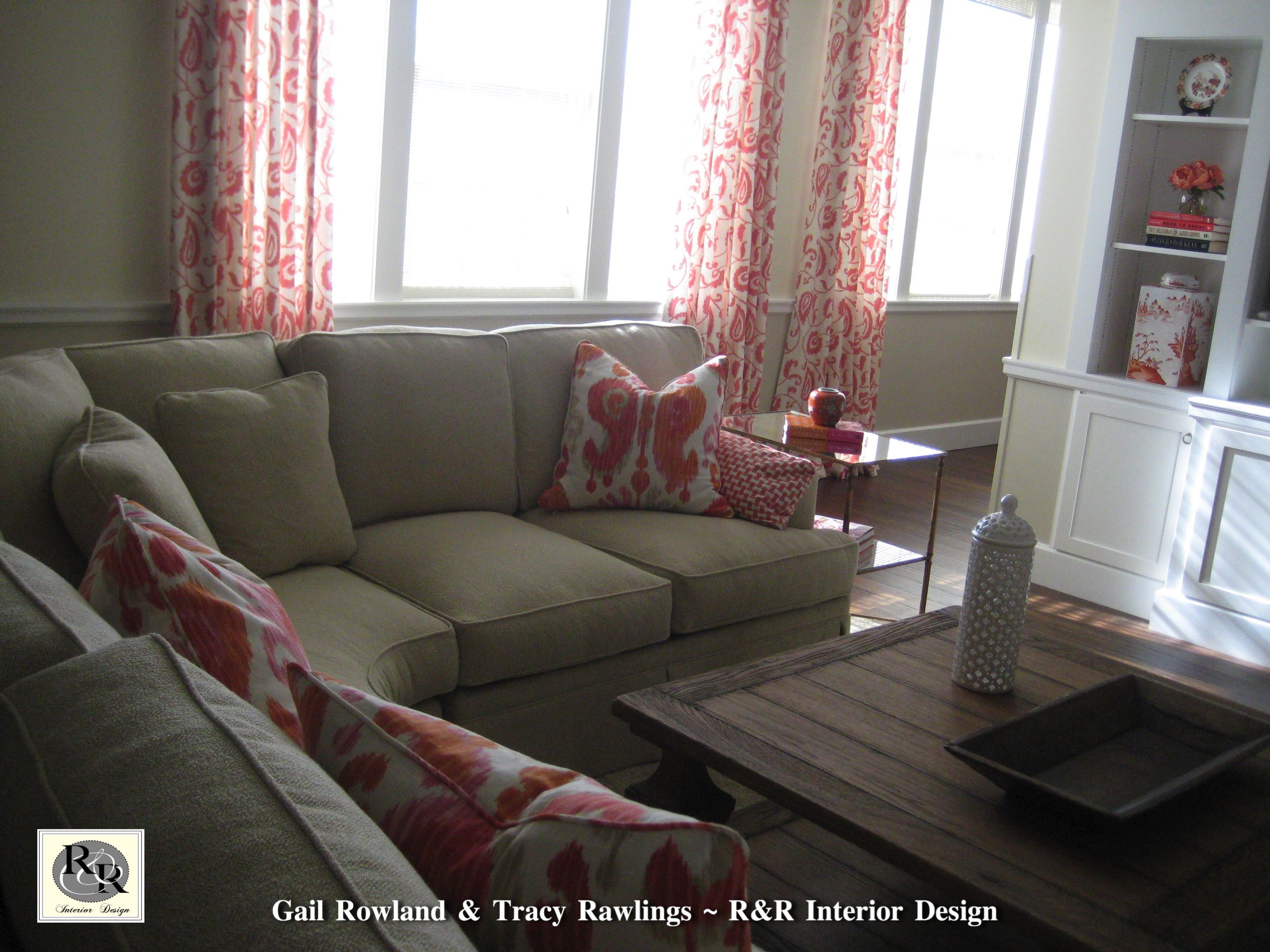 Tv Lounge At The New Chi Omega Sorority House At The University Of