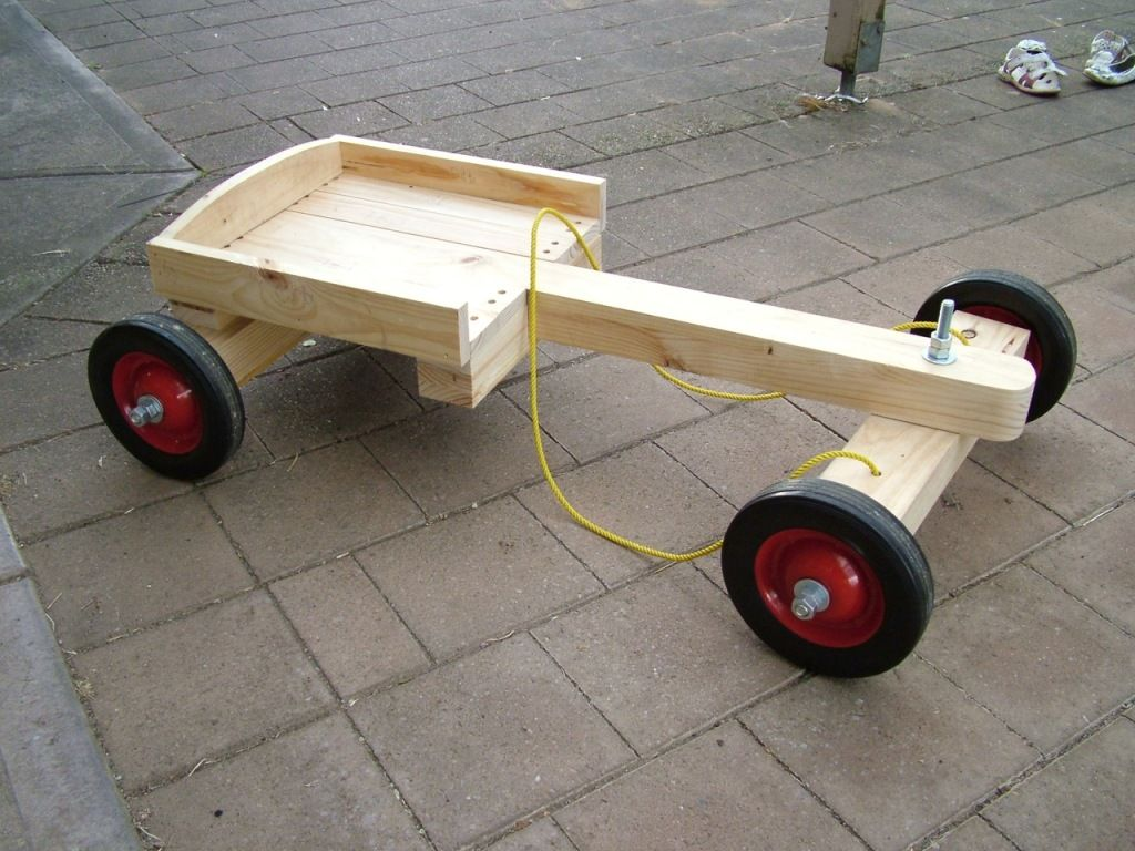 Push car interests pinterest homemade woodworking for Woodworking cart