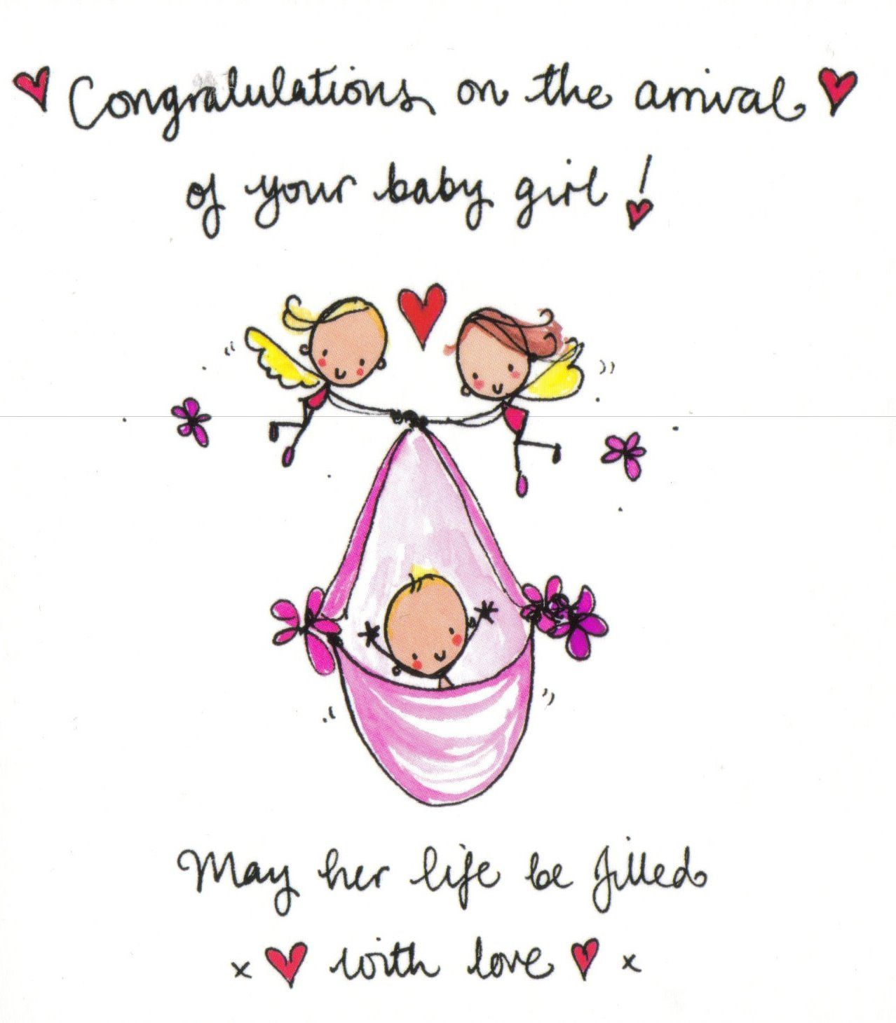 Juicy Lucy New Arrival Girl1 Greetings Blessings Pinterest