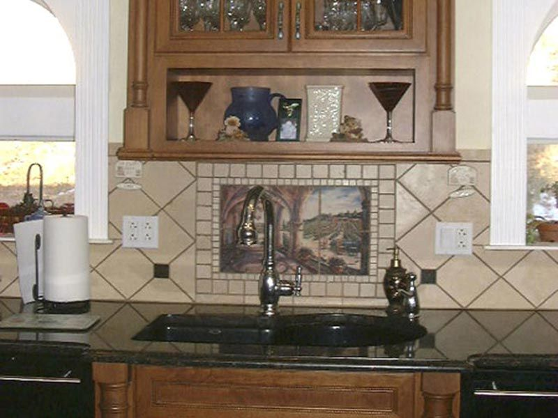 Installing kitchen tile backsplash ideas is a practical way to