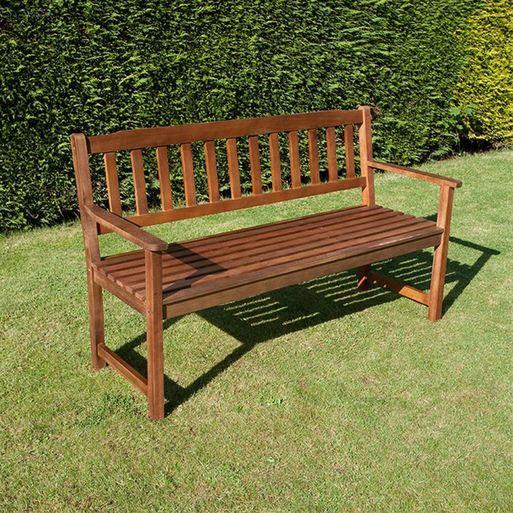 traditional windsor hardwood garden bench 2 and 3 seater available garden benchesgarden furniturefor lesswindsorranges