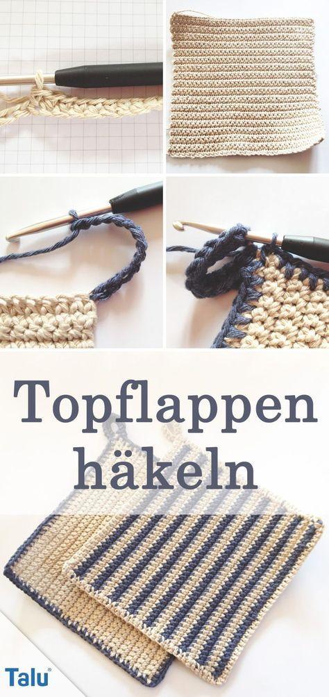 Photo of Topflappen häkeln – DIY-Anleitung für Anfänger – Talu.de