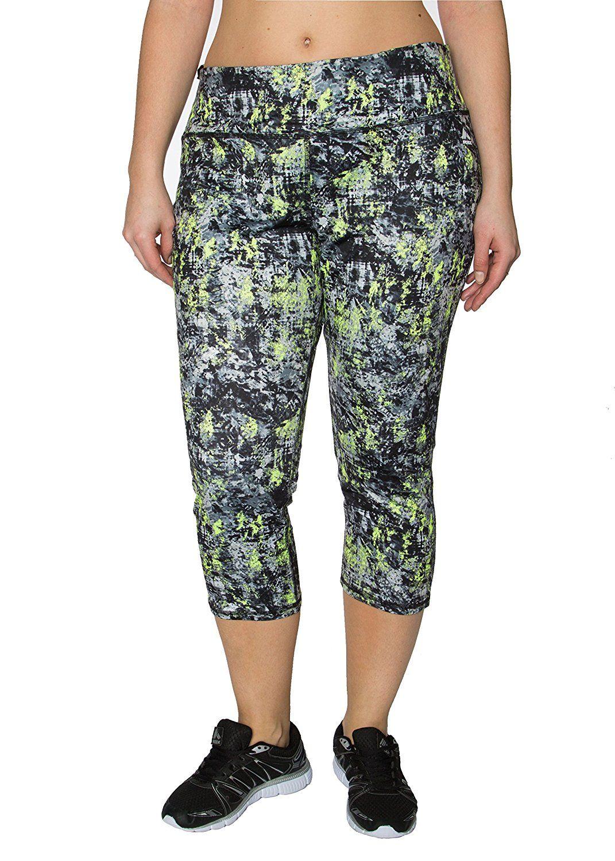 57e052edbfeae RBX Active Plus Size Seasonal Printed Capri Length Yoga Pants    Quickly  view this special