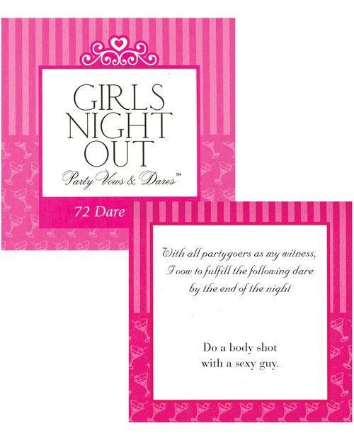 Girls night dares