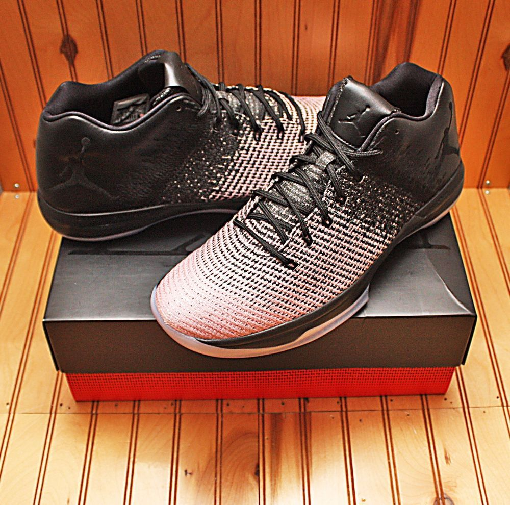 6dc3ce2404f8c4 2016 Nike Air Jordan XXXI 31 Low Size 13 - Black Dark Grey Sheen - 897564  001