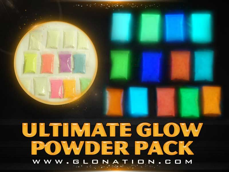 Glow-in-the-Dark Powders - Ultimate Glow Package Add to paint to make it glow in the dark