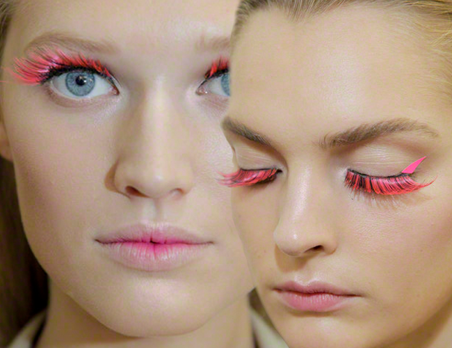 PINK LASHES