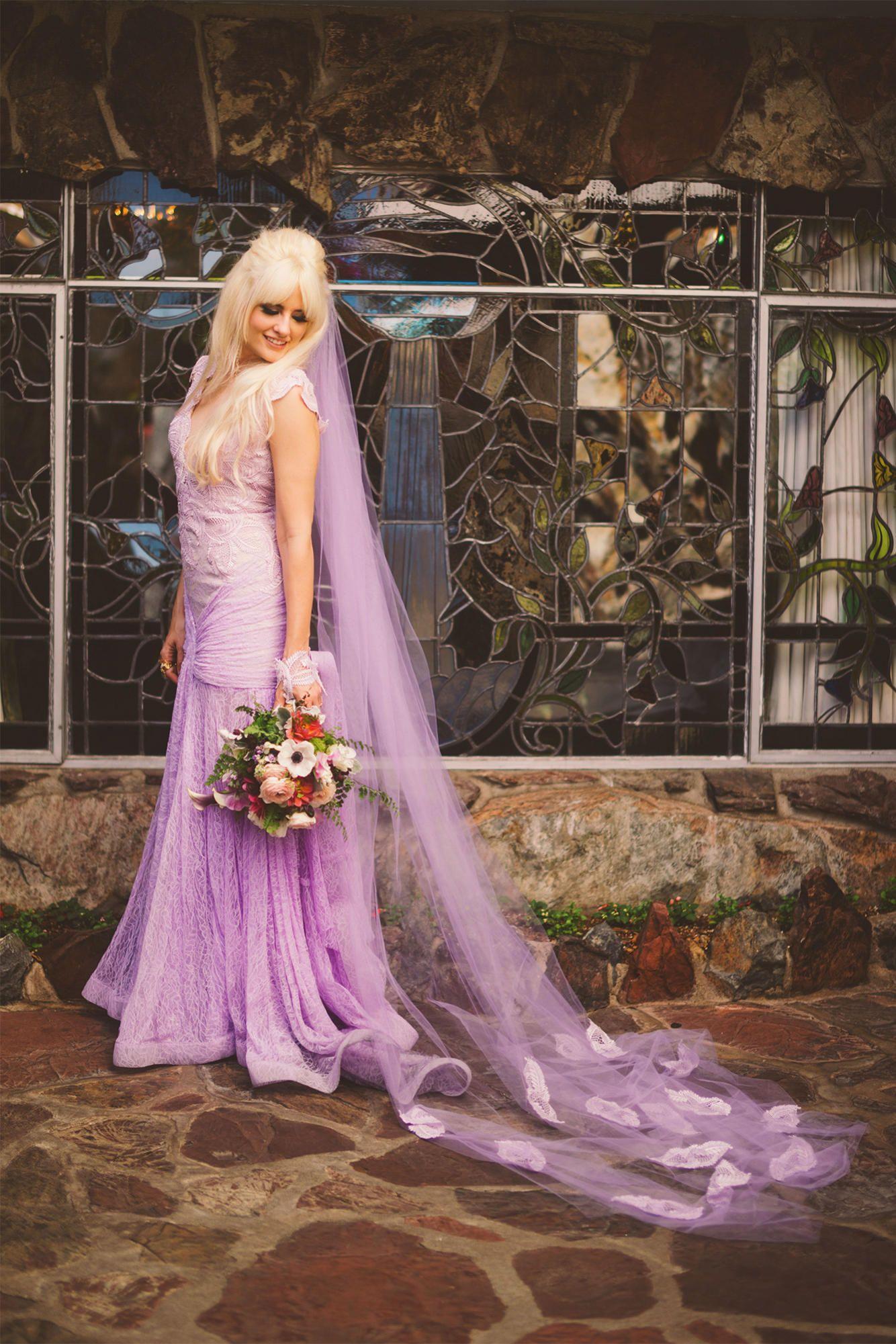 Long dress purple 09