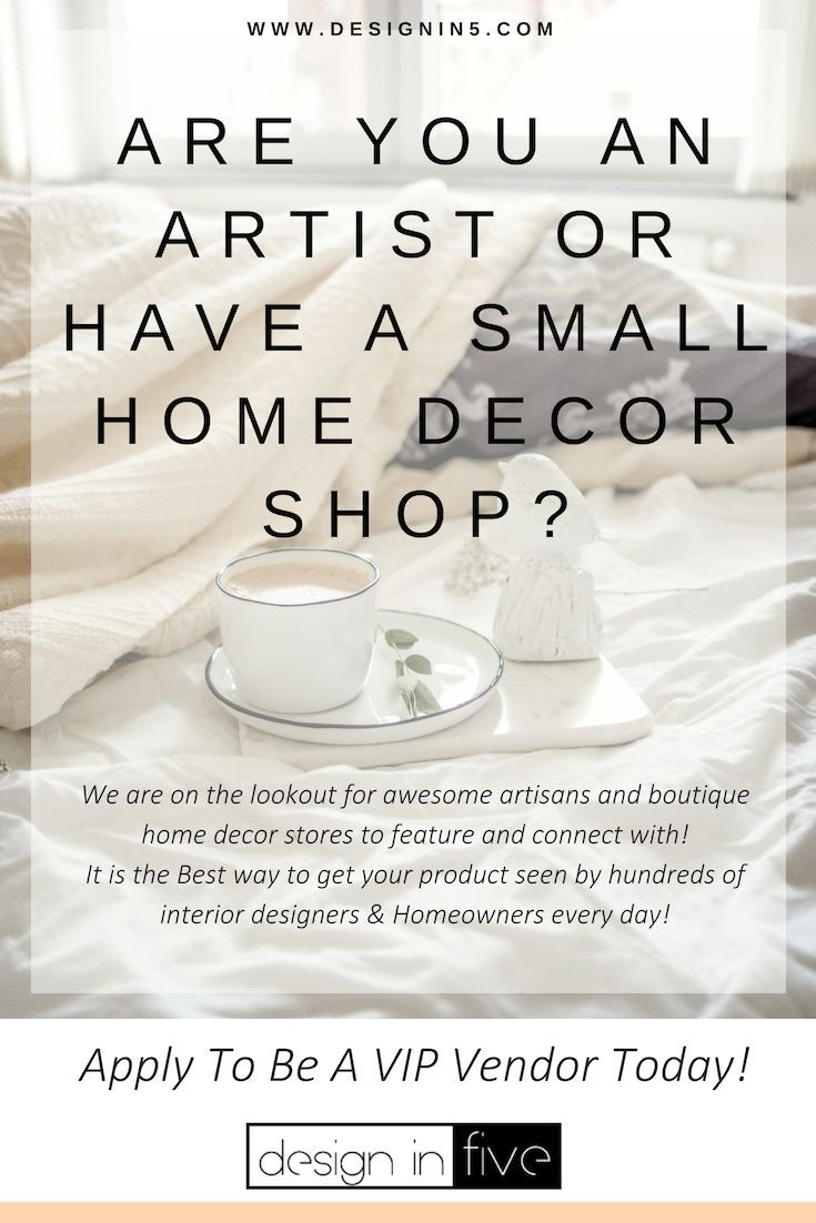 We are looking for artists artisans small home decor businesses boutique stores and furniture to conn  accessorize interior design in also rh pinterest