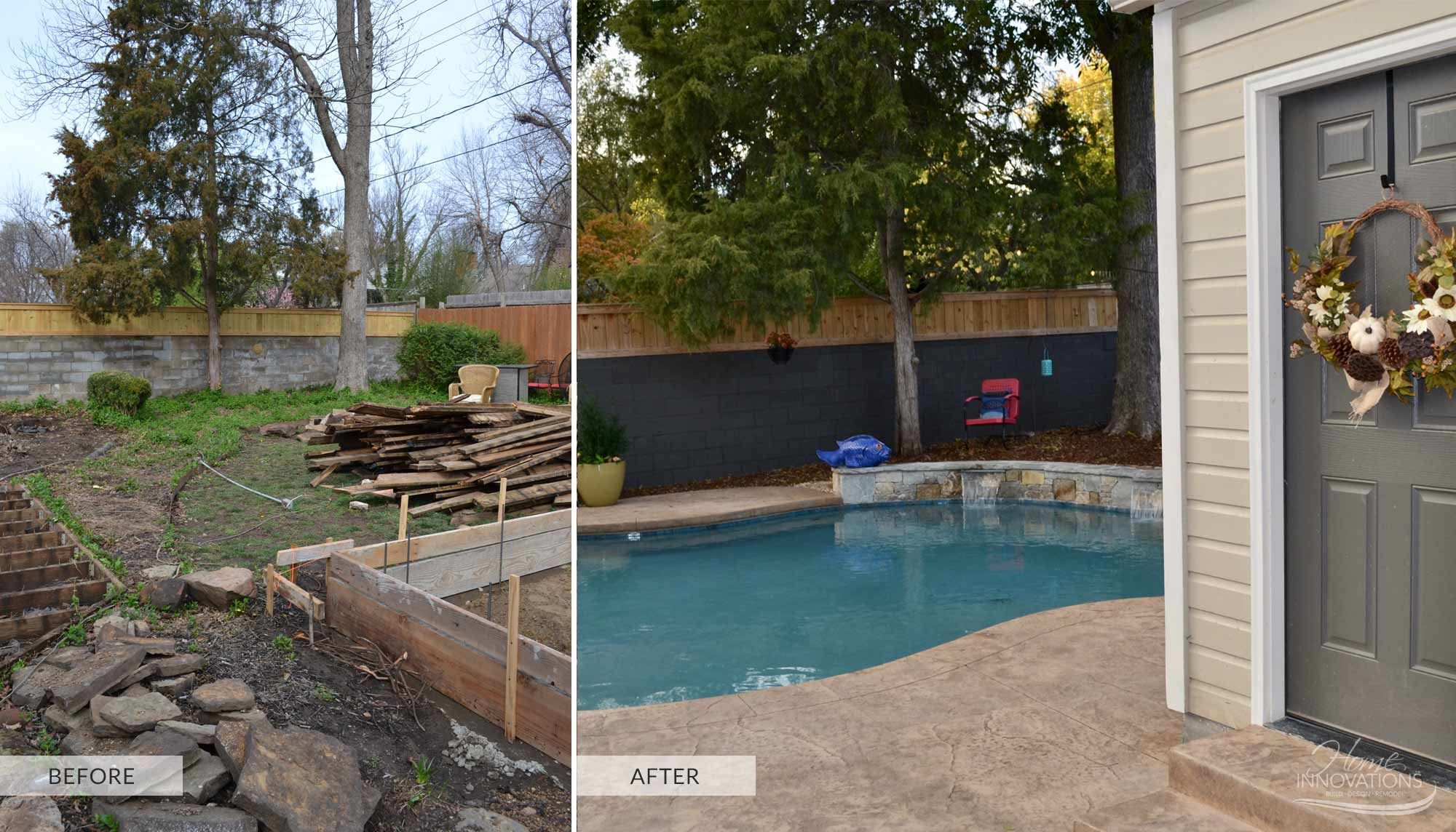 Before & After  Outdoor Living Before & After