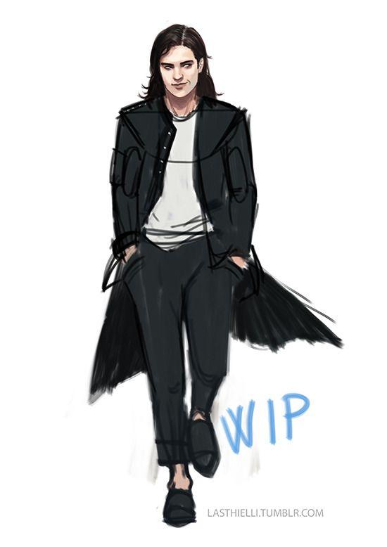 Work in progress… 20 years old Sirius Black by Lasthielli