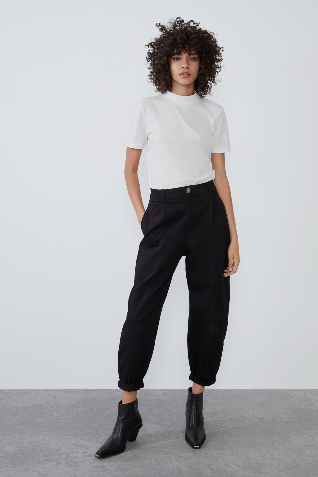 Photo of SLOUCHY PLEATED PANTS