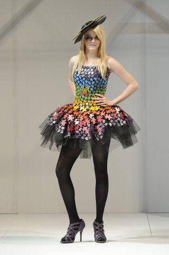 Wearable art, Puzzle dress | Wearable art | Pinterest ...