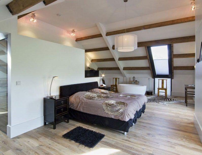 Habitaci n con buhardilla y estilo industrial estilos de for Diseno estilo industrial