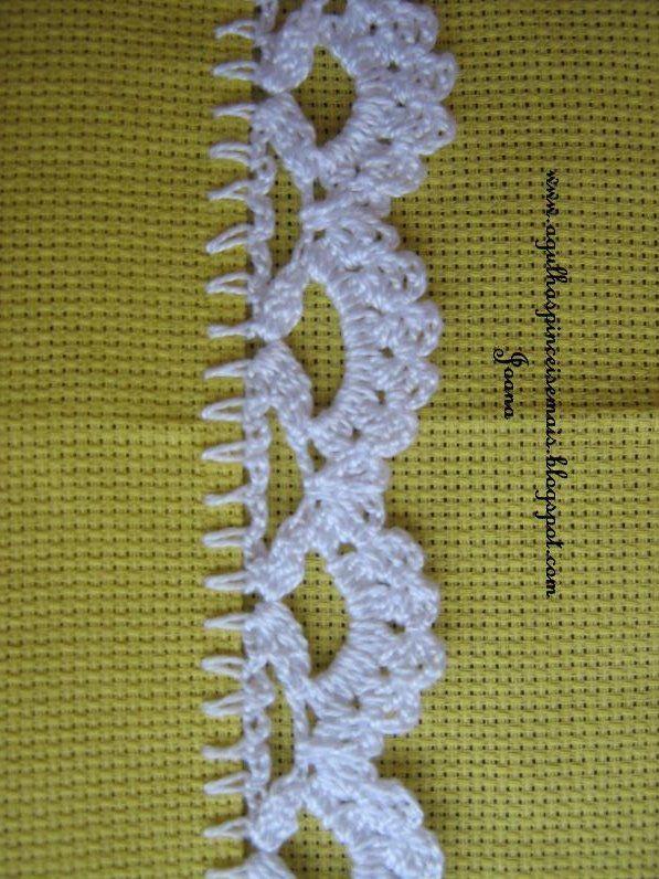 era Agulhas e Pinceis: Barrados | crochet | Pinterest | Ganchillo ...