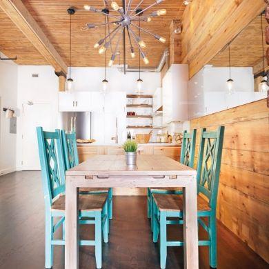 Une cuisine au look rustique, chic et urbain - Cuisine - Inspirations - Décoration et rénovation - Pratico Pratique