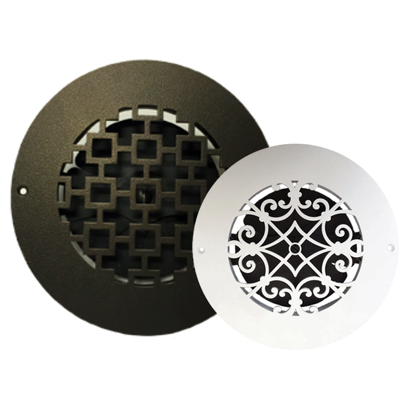 Round Metal Vent Cover Vent Covers Decorative Vent Cover Ceiling Vents