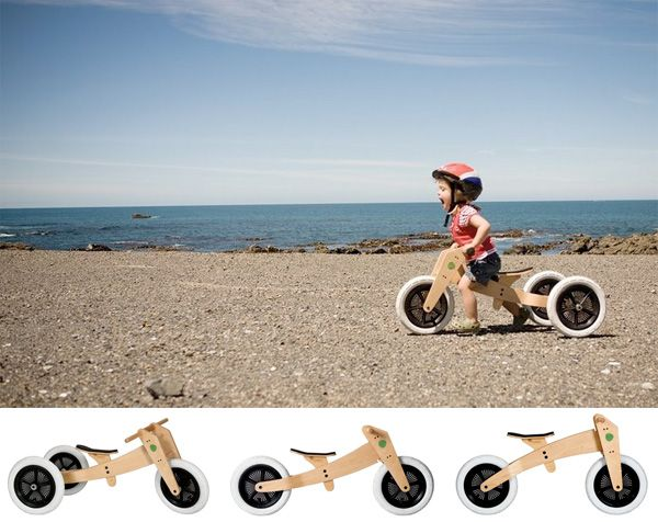 I Love The Clever And Sustainable Design Of This Wishbone Bicycle