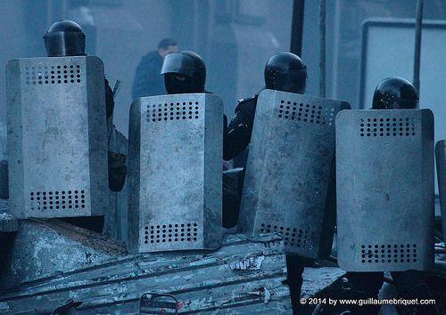 Révolution à Kiev Ukraine