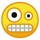 Zany Face Emoji On Google Android 8 0 Silly Faces Face Android