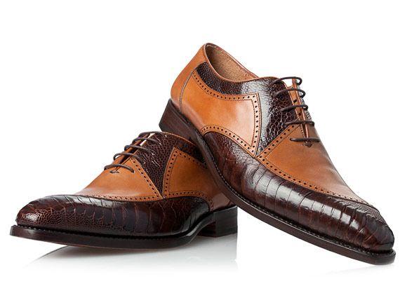 No. 438   Обувь   Oxford, Schuhe und Leder