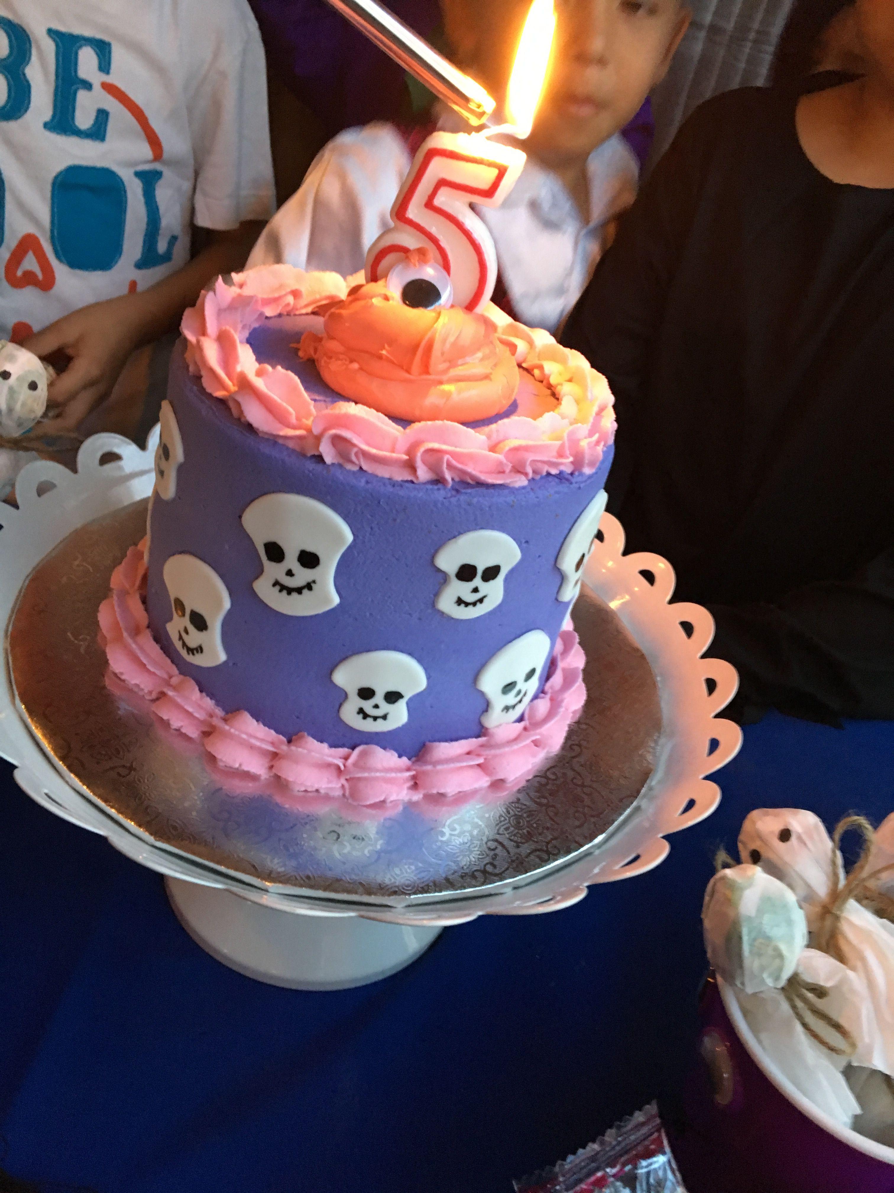 Dennis' Birthday Cake Hotel Transylvania Party