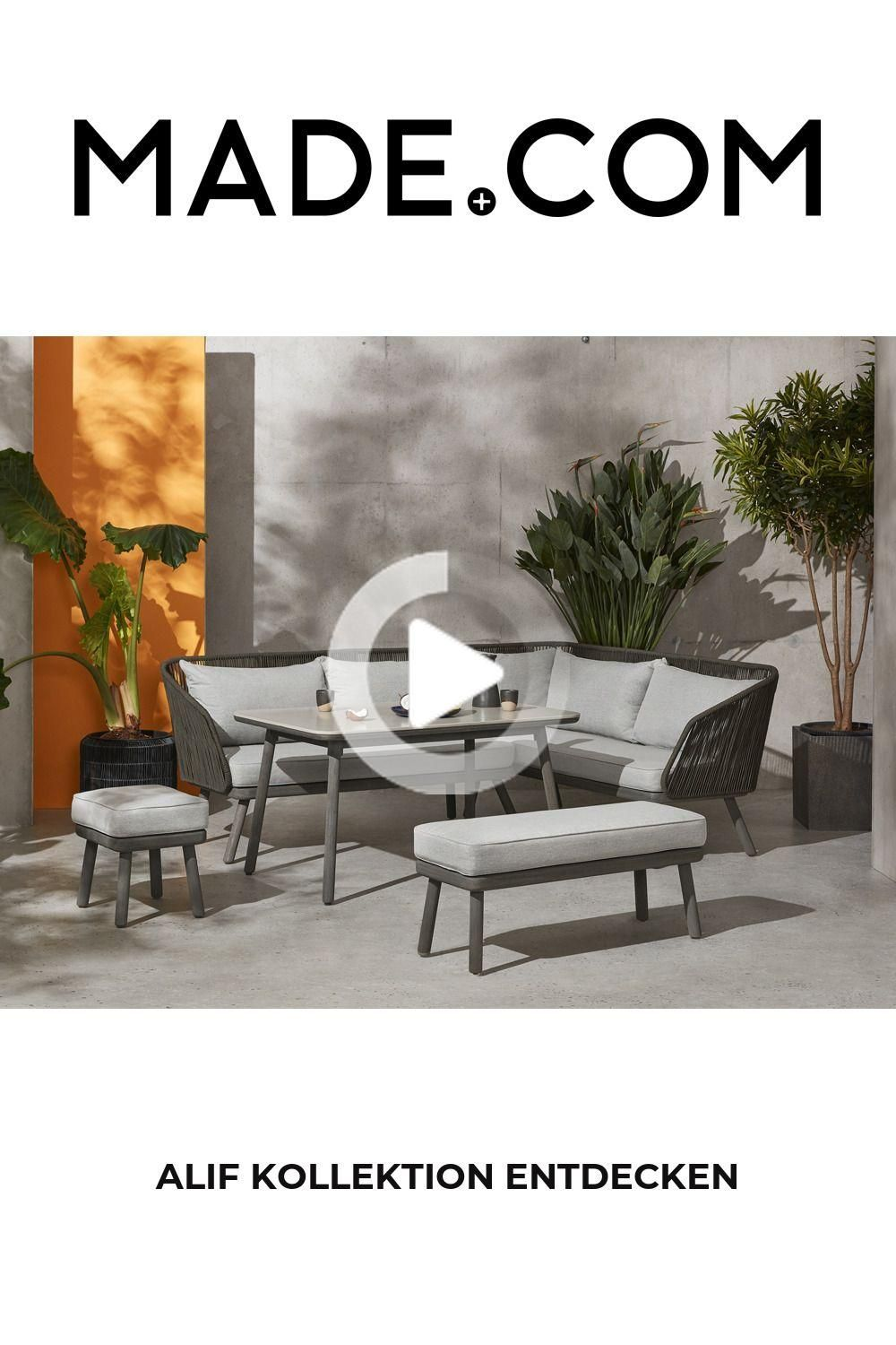 Scandi Cool Style For The Garden Or Conservatory The Alif Set Consisting Of Table Chairs And En 2020 Ensemble Table Et Chaise Salle A Manger Jardin Table Et Chaises