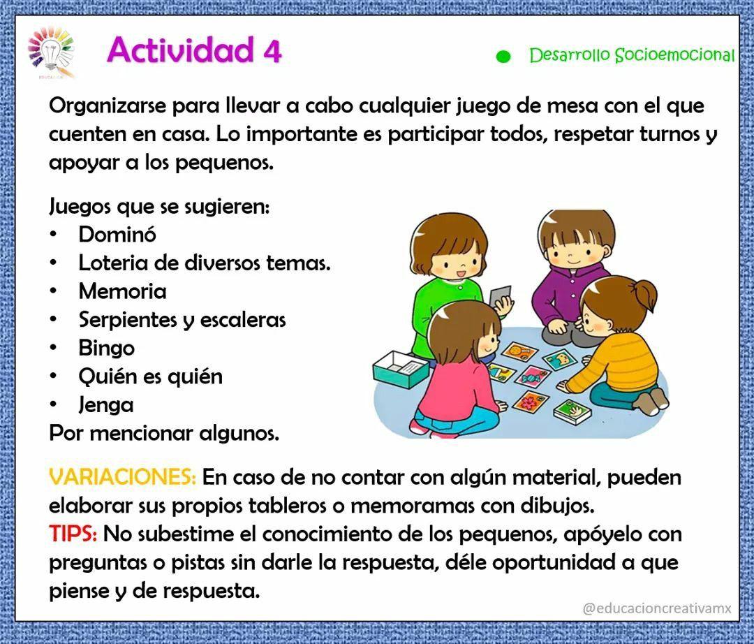 Pin De Idaly En Actividades Para Casa Actividades Educacion Emocional Infantil Reconocimientos Para Niños