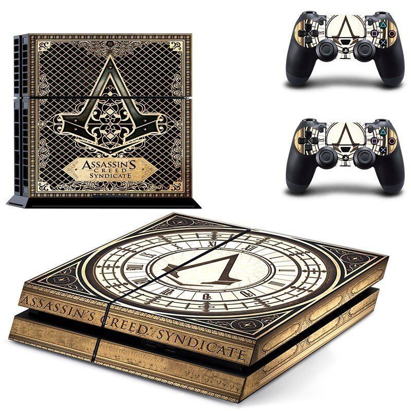 ASSASSIN'S CREED SYNDICATE Logo Sony PS4 Console Skin Kit