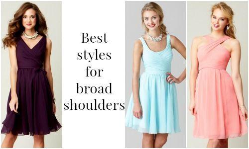 Dresses For Broad Shoulders