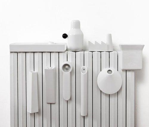 Ceramic humidifiers for radiators by il coccio design - Humidificador para radiadores ...