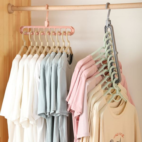 US $0.01 | 2PCS Magic Multi-port Support hangers