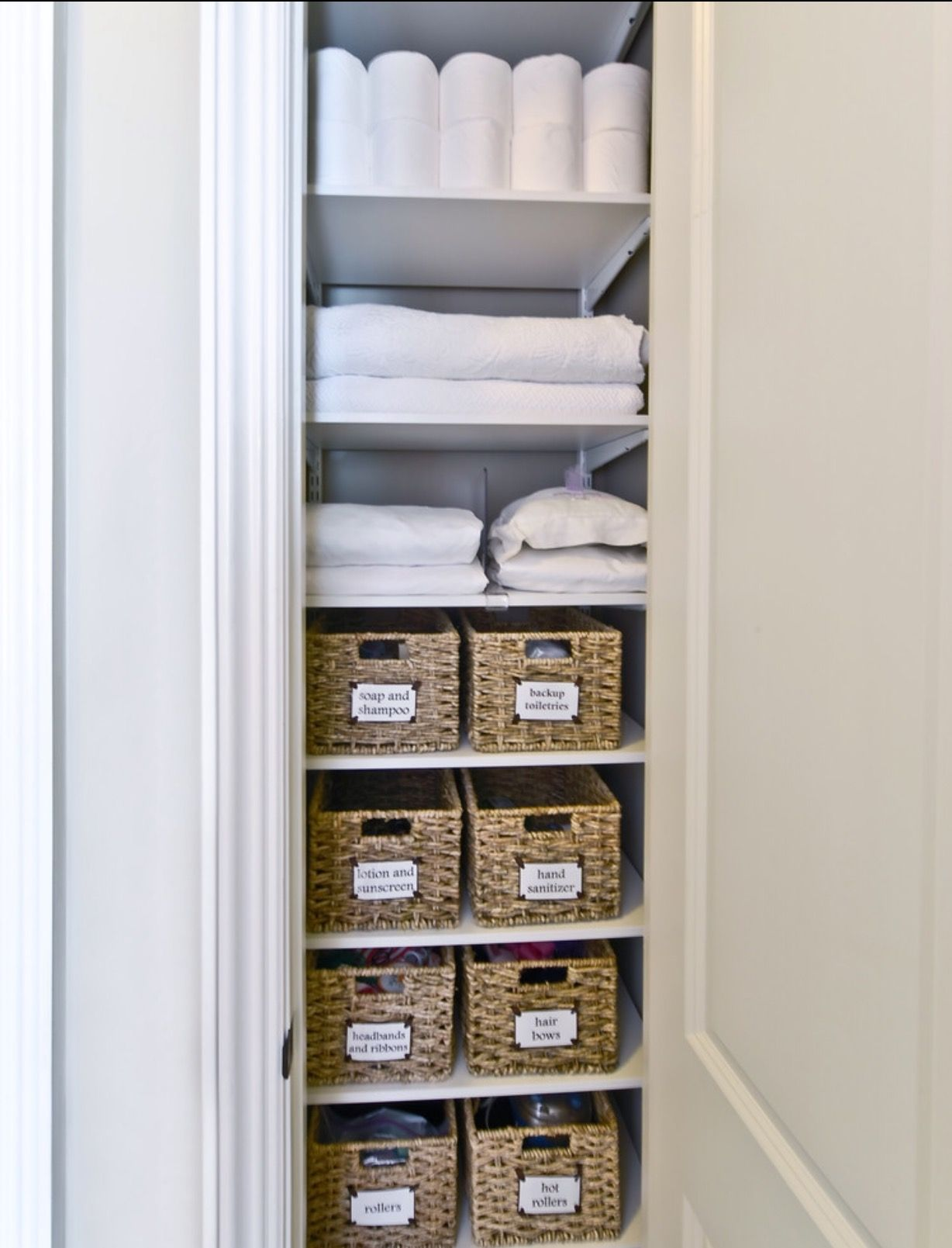 Bathroom Linen Closet Ideas Pin By Jamie Avona On Home In 2019 Bathroom Closet Organization