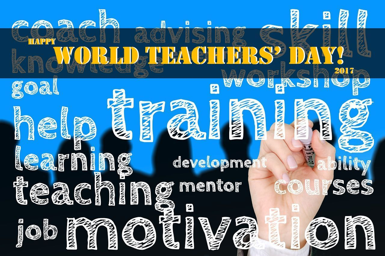 Happy world teachers day to all educators changing lives