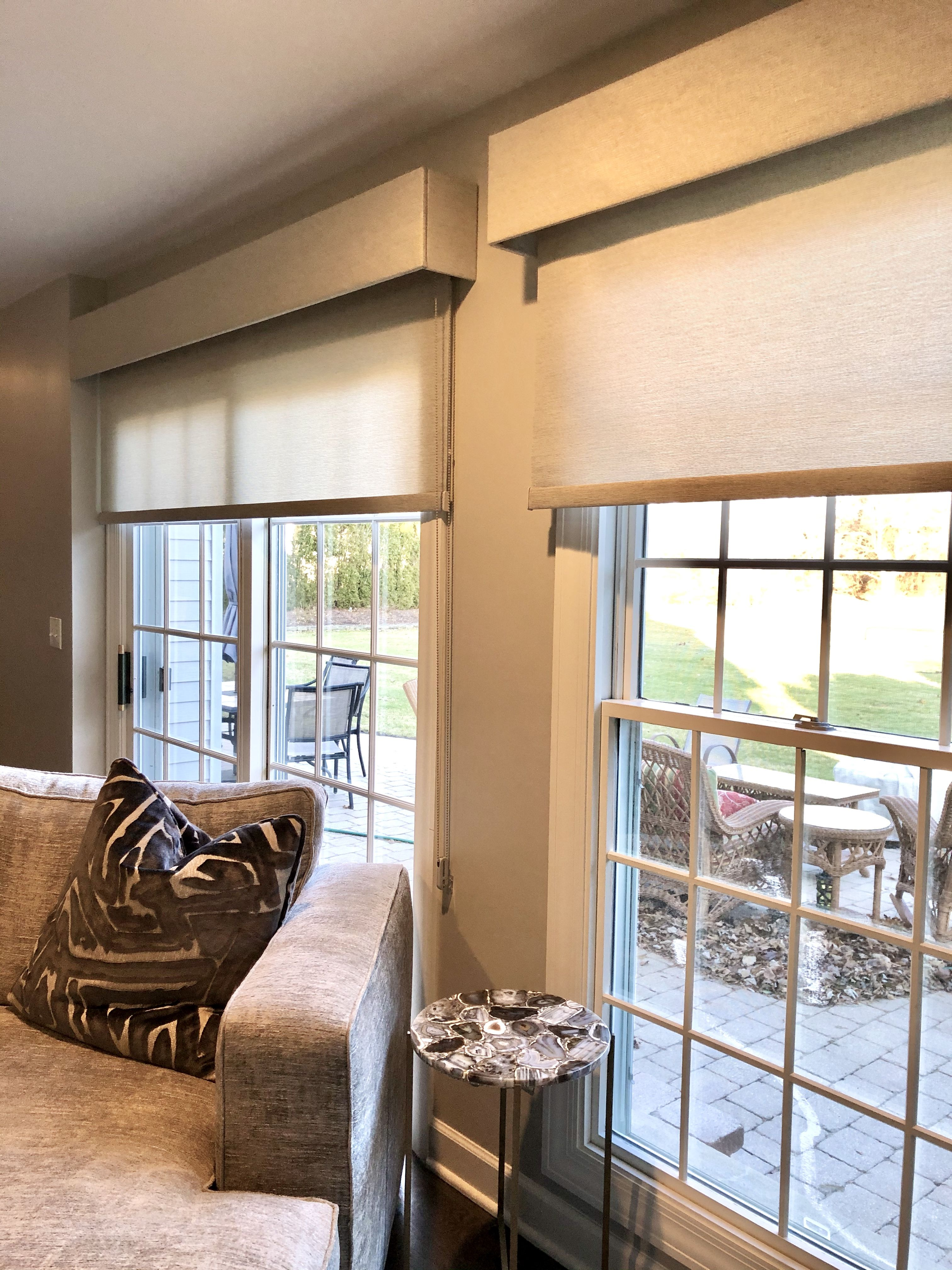 Roller Shades And Valances Long Grove Il In 2020 Roller Shades
