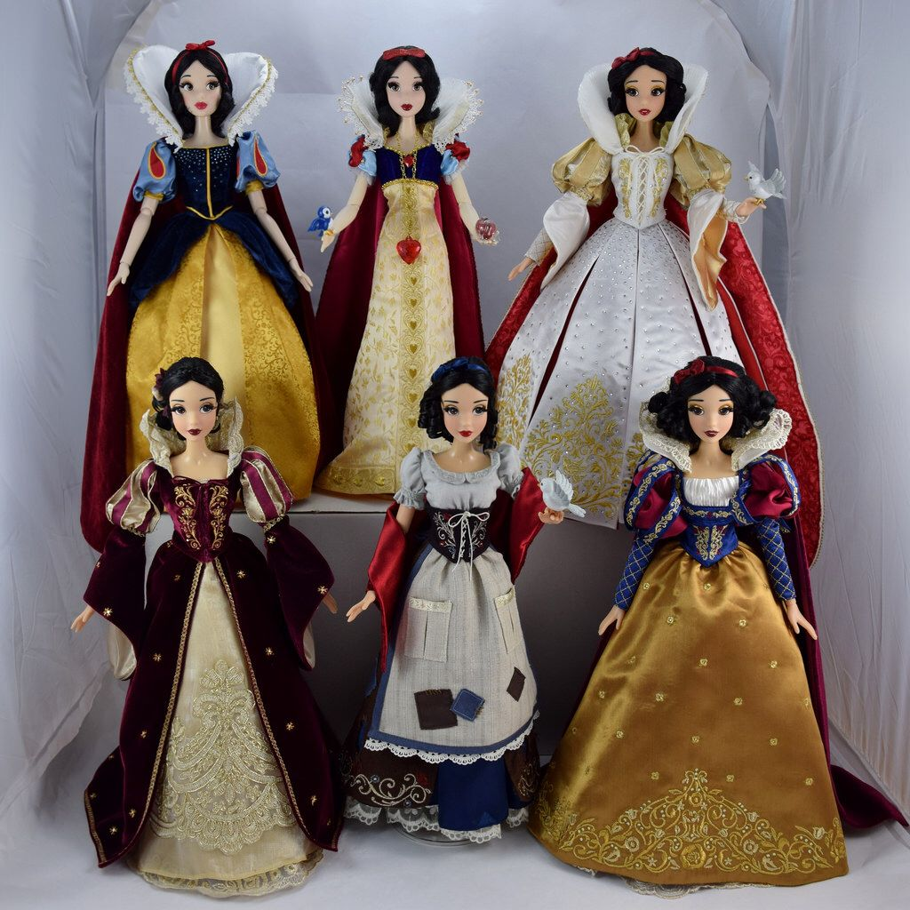 Six of the Fairest - Snow White Limited Edition 17 Inch Dolls #snowwhite
