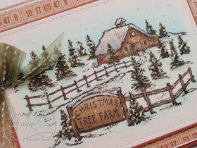 One Krafty Kat: Christmas Tree Farm