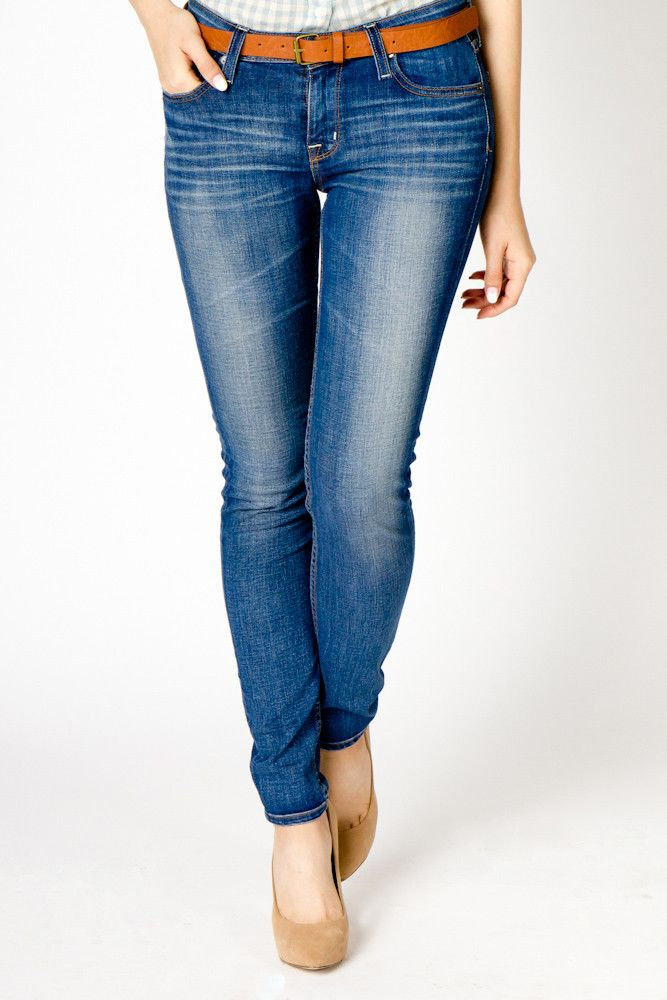 relaxed wash jeans.  cozy