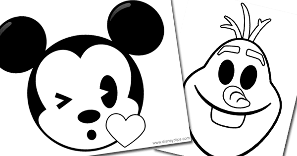 Printable Coloring Pages Of Disney Emojis Alice Belle Cinderella Ariel Snow White Dory Nemo And Others Disney Emoji Emoji Coloring Pages Coloring Pages