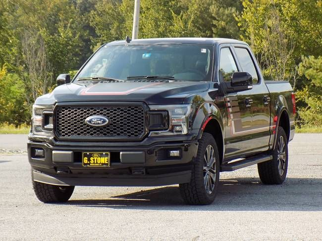 2018 Ford F 150 Lariat Special Edition Truck Crew Cab Engine 3 5l