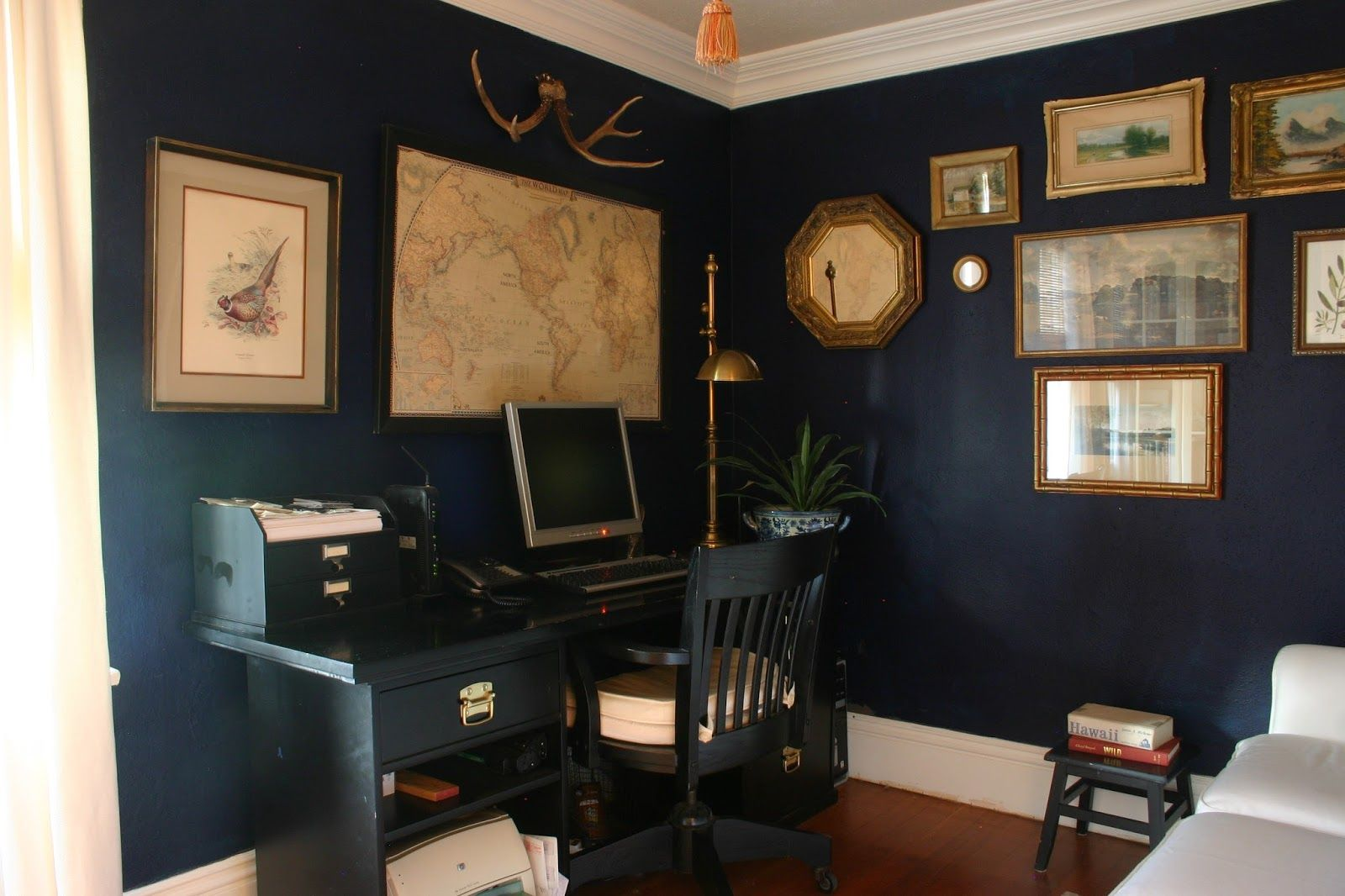 dark blue and gold office yahoo image search results on blue office color id=46133